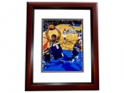 Kobe Bryant Signed - Autographed Los Angeles Lakers 11x14 inch Photo MAHOGANY CUSTOM FRAME - Guaranteed to pass PSA or JSA