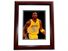 Kobe Bryant Signed - Autographed Los Angeles Lakers 8x10 inch Photo - MAHOGANY CUSTOM FRAME - Guaranteed to pass PSA/DNA or JSA