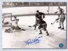 Red Kelly Red Wings Signed 8X10 Photo W/ Gordie Howe