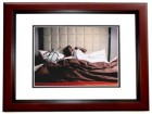 Kevin Hart Signed - Autographed Comedian 8x10 inch Photo MAHOGANY CUSTOM FRAME - Guaranteed to pass PSA or JSA