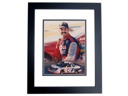 Kyle Petty Signed - Autographed Nascar Racing 8x10 inch Photo BLACK CUSTOM FRAME - Guaranteed to pass PSA or JSA