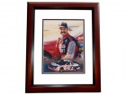 Kyle Petty Signed - Autographed Nascar Racing 8x10 inch Photo MAHOGANY CUSTOM FRAME - Guaranteed to pass PSA or JSA