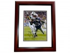 Kembrell Thompkins Signed - Autographed New England Patriots 8x10 inch Photo MAHOGANY CUSTOM FRAME - Guaranteed to pass PSA or JSA