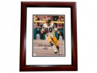 Kellen Winslow Signed - Autographed San Diego Chargers 8x10 inch Photo MAHOGANY CUSTOM FRAME - Guaranteed to pass PSA or JSA