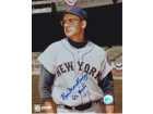 "Ken McKenzie Autographed New York Mets 8x10 Photo with ""62 METS"" Inscription"