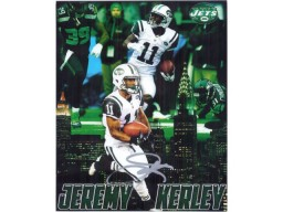Jeremy Kerley (New York Jets) Signed 8x10 Photo