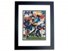 Kerry Collins Autographed Carolina Panthers 8x10 Photo BLACK CUSTOM FRAME