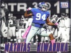 Mathias Kiwanuka (New York Giants) Signed 8x10 Photo