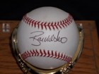 Ryan Klesko Signed Official MLB Baseball in Black Ink on the Sweet Spot (Comes with Single Baseball Display Case)
