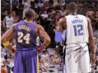 Kobe / Howard, Dwight Bryant Signed 8x10 By Kobe Bryant and Dwight Howard