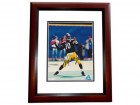 Kordell Stewart Signed - Autographed Pittsburgh Steelers 8x10 inch Photo MAHOGANY CUSTOM FRAME - Guaranteed to pass PSA or JSA
