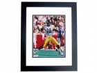 Kordell Stewart Autographed Pittsburgh Steelers 8x10 Photo BLACK CUSTOM FRAME