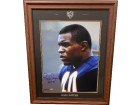 Gale Sayers signed Chicago Bears 16x20 Photo HOF 77 Custom Laser Logo Framing
