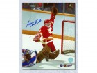 Reggie Lemelin Calgary Flames Signed 8X10 Photo