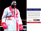 Larry Holmes Signed - Autographed Boxing 8x10 inch Photo - PSA/DNA Certificate of Authenticity (COA)