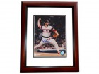 LaMarr Hoyt Signed - Autographed Chicago White Sox 8x10 inch Photo MAHOGANY CUSTOM FRAME - Guaranteed to pass PSA or JSA