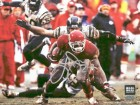 Larry Johnson Signed - Autographed Kansas City KC Chiefs 8x10 Action Photo - Horizontal - Guaranteed to pass PSA or JSA