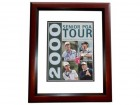 Larry Nelson, Hale Irwin, Bruce Fleisher, and Allen Doyle Signed - Autographed Senoir Tour 2000 Program Golf 8x10 MAHOGANY CUSTOM FRAME - Guaranteed to pass PSA or JSA