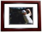 Larry Nelson Signed - Autographed Golf 8x10 inch Photo MAHOGANY CUSTOM FRAME - Guaranteed to pass PSA or JSA