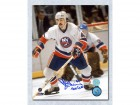 Bob Lorimer New York Islanders Signed 8X10 Photo