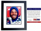 Leon Spinks Signed - Autographed Boxing 8x10 Photo BLACK CUSTOM FRAME - PSA/DNA Certificate of Authenticity (COA)