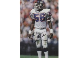 Lawrence Taylor Signed - Autographed New York Giants 4x6 Photo - Guaranteed to pass PSA or JSA - 2x Super Bowl Champion