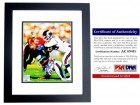 Lawrence Taylor Signed - Autographed New York Giants 8x10 inch Photo BLACK CUSTOM FRAME - PSA/DNA Certificate of Authenticity (COA)