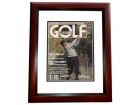 Lee Trevino Signed - Autographed Golf Illustrated Cover MAHOGANY CUSTOM FRAME