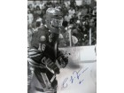 Pat LaFontaine (Buffalo Sabres) Signed B&W 16x20 Photo