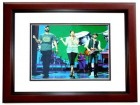 Lady Antebellum Signed - Autographed 11x14 inch Photo MAHOGANY CUSTOM FRAME - Guaranteed to pass PSA or JSA signed by Hillary Scott, Charles Kelley, and Dave Haywood