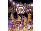 Los Angeles Lakers (2005) Signed 8x10 By the 2005 lakers starting lineup: Lamar Odom, Caron Butler, Kobe Bryant, Vlade Divac and Chris Mihm