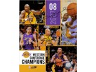 Los Angeles Lakers (2007-08) Signed 8x10 By the 2007-08 Western Conference Chapions (Kobe Bryant Derek Fisher, Lamar Odom, Pau Gasol and Vladimir Radmanovic)