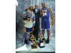 Los Angeles Lakers (Kobe Bryant/Shaquille O'Neal/Magic Johnson) Signed 11x14 By Kobe Bryant, Shaquille O'Neal and Magic Johnson