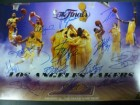 Los Angeles Lakers (2009-10) Signed 10x15 Photo by the 2009-10 Los Angeles Lakers Team (14 Signatures in all)