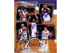 Los Angeles Lakers (2006-07) Signed 8x10 By Andrew Bynum, Lamar Odom, Luke Walton, Kwame Brown and Kobe Bryant