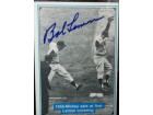 Bob Lemon Signed 1982 The Mickey Mantle Story Baseball Card (# 27)