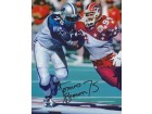 Lomas Brown Signed - Autographed Detroit Lions 8x10 PRO BOWL Photo - Guaranteed to pass PSA or JSA