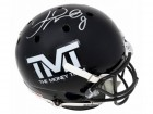 Floyd Mayweather Jr. Signed The Money Team Black Icy Full Size Replica Helmet