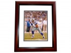 Miles Austin Signed - Autographed Dallas Cowboys 8x10 inch Photo MAHOGANY CUSTOM FRAME - Guaranteed to pass PSA or JSA