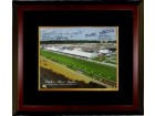 Angel Cordero signed Preakness Stakes Winners Pimlico Race Course Horse Racing 16x20 Photo Custom Framing w/ 6 Sig