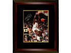 Shaquille O'Neal signed LSU Tigers 16x20 Photo Custom Framed #33 (white jersey dunk)