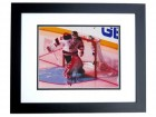 Martin Brodeur Signed - Autographed New Jersey Devils 8x10 Photo BLACK CUSTOM FRAME