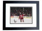 Martin Brodeur Signed - Autographed New Jersey Devils 8x10 Photo BLACK CUSTOM FRAME - 3x Stanly Cup Champion