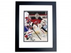 Martin Brodeur Signed - Autographed New Jersey Devils 8x10 Photo BLACK CUSTOM FRAME - 3x Stanley Cup Champion