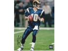 Marc Bulger Signed - Autographed St. Louis Rams 8x10 inch Photo - Guaranteed to pass PSA or JSA