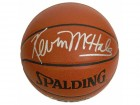 Kevin McHale Signed Spalding NBA Indoor/Outdoor Basketball