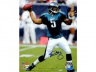 Donovan McNabb Signed Philadelphia Eagles Passing Action 8x10 Photo