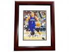 Michael Carter-Williams Signed - Autographed Philadelphia 76ers 8x10 inch Photo - 2014 Rookie of the Year - MAHOGANY CUSTOM FRAME - Guaranteed to pass PSA or JSA