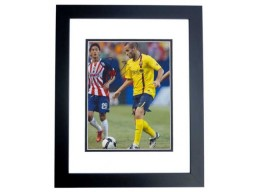 Marc Crosas Signed - Autographed FC Barcelona 8x10 inch Photo BLACK CUSTOM FRAME - Guaranteed to pass PSA or JSA
