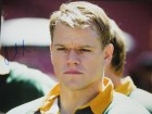 Matt Damon Signed - Autographed INVICTUS 11x14 inch Photo - Guaranteed to pass PSA or JSA as Francois Pienaar